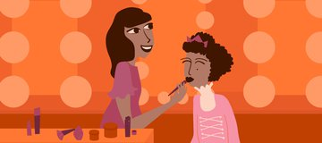 How I became a make-up pro